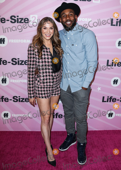 Allison Holker Photo - HOLLYWOOD LOS ANGELES CA USA - NOVEMBER 27 Allison Holker Stephen Boss tWitch at the World Premiere Of Freeforms Life-Size 2 held at The Hollywood Roosevelt on November 27 2018 in Hollywood Los Angeles California United States (Photo by Xavier CollinImage Press Agency)