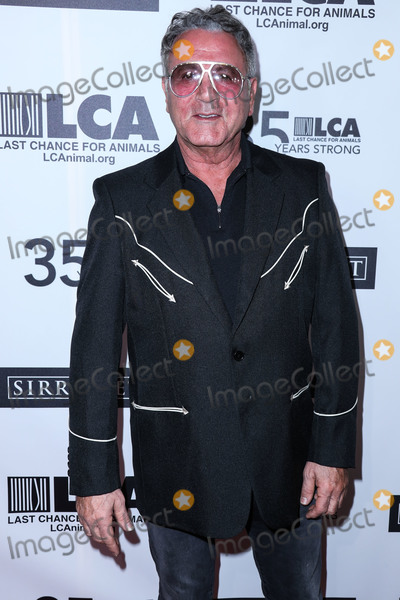 Frank Stallone Photo - BEVERLY HILLS LOS ANGELES CALIFORNIA USA - OCTOBER 19 Actor Frank Stallone arrives at the Last Chance For Animals 35th Anniversary Gala held at The Beverly Hilton Hotel on October 19 2019 in Beverly Hills Los Angeles California United States (Photo by Xavier CollinImage Press Agency)