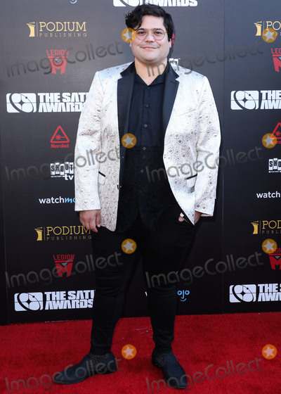 Harvey Guillen Photo - HOLLYWOOD LOS ANGELES CALIFORNIA USA - SEPTEMBER 13 Harvey Guillen arrives at the 45th Annual Saturn Awards held at Avalon Hollywood on September 13 2019 in Hollywood Los Angeles California United States (Photo by David AcostaImage Press Agency)