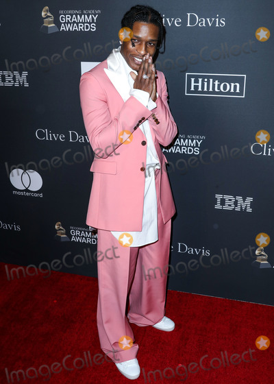 ASAP Rocky Photo - BEVERLY HILLS LOS ANGELES CA USA - FEBRUARY 09 Rapper AAP Rocky (ASAP Rocky Rakim Mayers) arrives at The Recording Academy And Clive Davis 2019 Pre-GRAMMY Gala held at The Beverly Hilton Hotel on February 9 2019 in Beverly Hills Los Angeles California United States (Photo by Xavier CollinImage Press Agency)