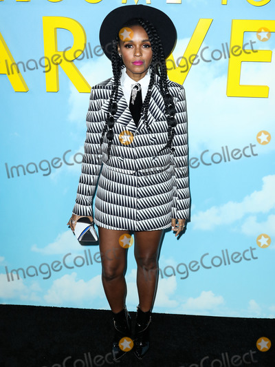 Janell Monae Photo - HOLLYWOOD LOS ANGELES CA USA - DECEMBER 10 Singeractress Janelle Monae wearing a Stephen Webster ring arrives at the Los Angeles Premiere Of Universal Pictures And DreamWorks Pictures Welcome To Marwen held at ArcLight Cinemas Hollywood on December 10 2018 in Hollywood Los Angeles California United States (Photo by Xavier CollinImage Press Agency)