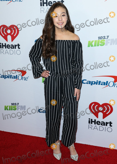 Aubrey Anderson-Emmons Photo - INGLEWOOD LOS ANGELES CA USA - NOVEMBER 30 Aubrey Anderson-Emmons at 1027 KIIS FMs Jingle Ball 2018 held at The Forum on November 30 2018 in Inglewood Los Angeles California United States (Photo by Xavier CollinImage Press Agency)