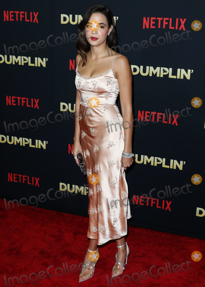Georgi Photo - HOLLYWOOD LOS ANGELES CA USA - DECEMBER 06 Actress Georgie Flores arrives at the Los Angeles Premiere Of Netflixs Dumplin held at the TCL Chinese Theatre IMAX 6 on December 6 2018 in Hollywood Los Angeles California United States (Photo by Xavier CollinImage Press Agency)