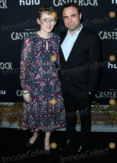 Anouk Aim Photo - WEST HOLLYWOOD LOS ANGELES CALIFORNIA USA - OCTOBER 14 Marie-Aimee Thomason and Dustin Thomason arrive at the Los Angeles Premiere Of Hulus Castle Rock Season 2 held at AMC Sunset 5 on October 14 2019 in West Hollywood Los Angeles California United States (Photo by Xavier CollinImage Press Agency)