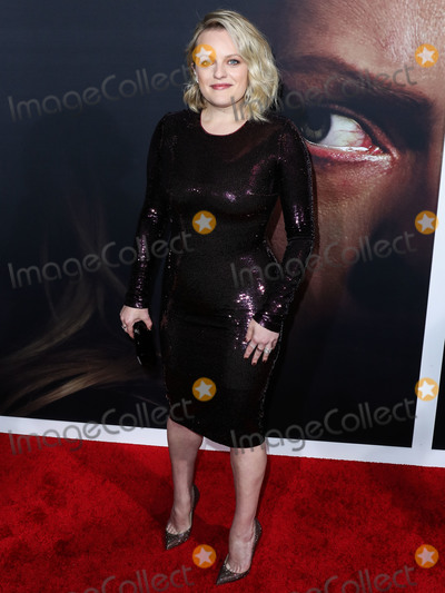 Christian Louboutin Photo - HOLLYWOOD LOS ANGELES CALIFORNIA USA - FEBRUARY 24 Actress Elisabeth Moss wearing a Tom Ford dress Christian Louboutin shoes Tyler Ellis bag with Djula and Yves Tufenkjian jewelry arrives at the Los Angeles Premiere Of Universal Pictures The Invisible Man held at the TCL Chinese Theatre IMAX on February 24 2020 in Hollywood Los Angeles California United States (Photo by Xavier CollinImage Press Agency)