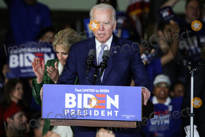 Vice President Joe Biden Photo - BALDWIN HILLS LOS ANGELES CALIFORNIA USA - MARCH 03 Former Vice President Joe Biden 2020 Democratic presidential candidate speaks during the Jill and Joe Biden 2020 Super Tuesday Los Angeles Rally held at the Baldwin Hills Recreation Center on March 3 2020 in Baldwin Hills Los Angeles California United States (Photo by Xavier CollinImage Press Agency)