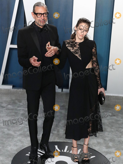 Jeff Goldblum Photo - BEVERLY HILLS LOS ANGELES CALIFORNIA USA - FEBRUARY 09 Jeff Goldblum and Emilie Livingston arrive at the 2020 Vanity Fair Oscar Party held at the Wallis Annenberg Center for the Performing Arts on February 9 2020 in Beverly Hills Los Angeles California United States (Photo by Xavier CollinImage Press Agency)