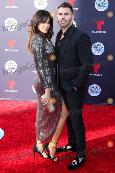 Angelica Celaya Photo - HOLLYWOOD LOS ANGELES CA USA - OCTOBER 25 Angelica Celaya Luis Garcia at the 2018 Latin American Music Awards held at the Dolby Theatre on October 25 2018 in Hollywood Los Angeles California United States (Photo by Xavier CollinImage Press Agency)