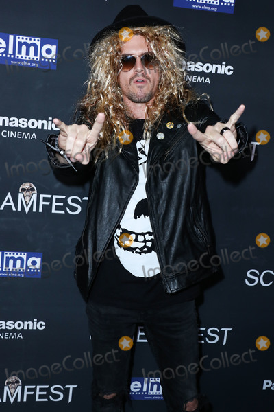 Editors Photo - HOLLYWOOD LOS ANGELES CALIFORNIA USA - OCTOBER 17 Film editor Kyle Tekiela arrives at the Screamfest Closing Night Screening Of We Summon The Darkness held at TCL Chinese 6 Theatres on October 17 2019 in Hollywood Los Angeles California United States (Photo by Xavier CollinImage Press Agency)