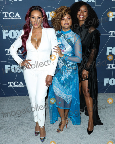 Taraji P Henson Photo - PASADENA LOS ANGELES CALIFORNIA USA - JANUARY 07 Vivica A Fox Taraji P Henson and Tasha Smith arrive at the FOX Winter TCA 2020 All-Star Party held at The Langham Huntington Hotel on January 7 2020 in Pasadena Los Angeles California United States (Photo by Xavier CollinImage Press Agency)