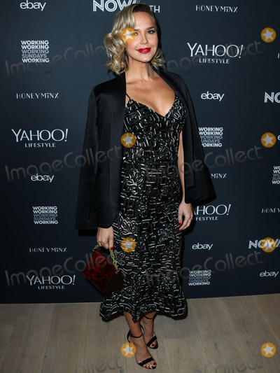 ARIELE KEBBEL Photo - BEVERLY HILLS LOS ANGELES CA USA - NOVEMBER 15 Arielle Kebbel at the NowWith Presented By Yahoo Lifestyle In Partnership With Working Sundays Series With Nicole Richies Honey Minx Collection Reveal held at Spring Place on November 15 2018 in Beverly Hills Los Angeles California United States (Photo by Xavier CollinImage Press Agency)