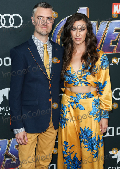 Natasha Halevi Photo - LOS ANGELES CALIFORNIA USA - APRIL 22 Sean Gunn and Natasha Halevi arrive at the World Premiere Of Walt Disney Studios Motion Pictures and Marvel Studios Avengers Endgame held at the Los Angeles Convention Center on April 22 2019 in Los Angeles California United States (Photo by Xavier CollinImage Press Agency)