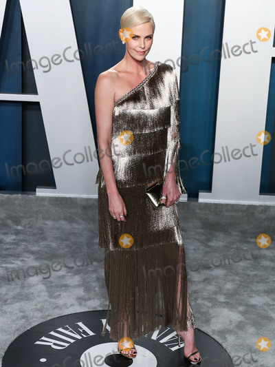 Charlize Theron Photo - BEVERLY HILLS LOS ANGELES CALIFORNIA USA - FEBRUARY 09 Actress Charlize Theron arrives at the 2020 Vanity Fair Oscar Party held at the Wallis Annenberg Center for the Performing Arts on February 9 2020 in Beverly Hills Los Angeles California United States (Photo by Xavier CollinImage Press Agency)