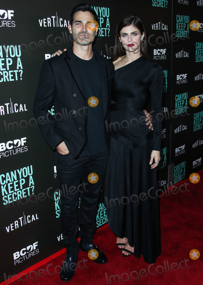 Alexandra Daddario Photo - HOLLYWOOD LOS ANGELES CALIFORNIA USA - AUGUST 28 Actor Tyler Hoechlin and actress Alexandra Daddario arrive at the Los Angeles Premiere Of Vertical Entertainments Can You Keep A Secret held at ArcLight Cinemas Hollywood on August 28 2019 in Hollywood Los Angeles California United States (Photo by Xavier CollinImage Press Agency)