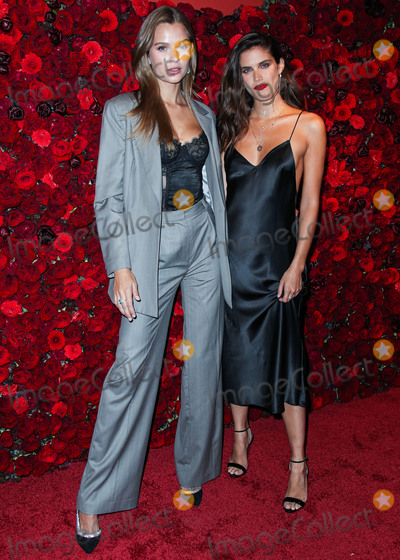 Victorias Secret Photo - MANHATTAN NEW YORK CITY NEW YORK USA - SEPTEMBER 05 Victorias Secret Angels Josephine Skriver and Sara Sampaio arrive at Victorias Secret Angel Sara Sampaio Hosts The Bombshell Intense Launch Party held at Paradise Club at the Times Square EDITION Hotel on September 5 2019 in Manhattan New York City New York United States (Photo by Xavier CollinImage Press Agency)