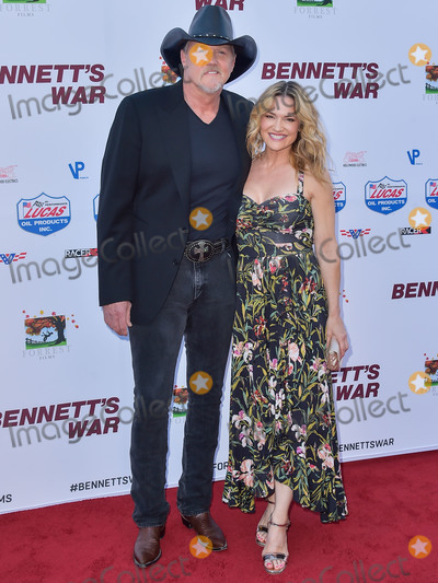Victoria Pratt Photo - BURBANK LOS ANGELES CALIFORNIA USA - AUGUST 13 Singer Trace Adkins and Victoria Pratt arrive at the Los Angeles Premiere Of Forrest Films Bennetts War held at the Steven J Ross Theater at Warner Bros Studios on August 13 2019 in Burbank Los Angeles California United States (Photo by Image Press Agency)