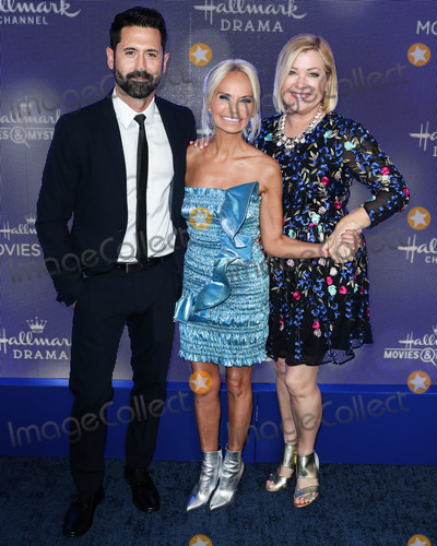Jennifer Aspen Photo - BEVERLY HILLS LOS ANGELES CALIFORNIA USA - JULY 26 David ODonnell Kristin Chenoweth and Jennifer Aspen arrive at the Hallmark Channel And Hallmark Movies And Mysteries Summer 2019 TCA Press Tour Event held at a Private Residence on July 26 2019 in Beverly Hills Los Angeles California United States (Photo by Xavier CollinImage Press Agency)