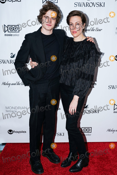 Ben Rosenfield Photo - MANHATTAN NEW YORK CITY NEW YORK USA - NOVEMBER 12 Ben Rosenfield and Rebecca Henderson arrive at the New York Premiere Of Utopias Mickey And The Bear held at Mondrian Terrace Park Avenue on November 12 2019 in Manhattan New York City New York United States (Photo by William PerezImage Press Agency)
