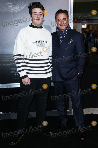 Andres Garcia Photo - WESTWOOD LOS ANGELES CA USA - DECEMBER 10 Andres Garcia Lorido and fatheractor Andy Garcia arrive at the Los Angeles Premiere of Warner Bros Pictures The Mule held at the Regency Village Theatre on December 10 2018 in Westwood Los Angeles California United States (Photo by Image Press Agency)