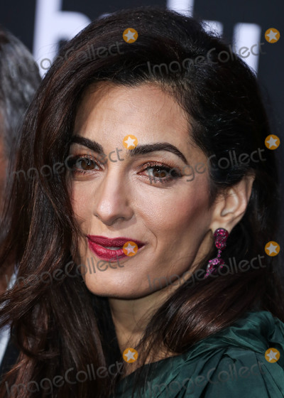 Amal Alamuddin Photo - HOLLYWOOD LOS ANGELES CALIFORNIA USA - MAY 07 Barrister Amal Alamuddin Clooney wearing an Oscar de la Renta dress arrives at the Los Angeles Premiere Of Hulus Catch-22 held at the TCL Chinese Theatre IMAX on May 7 2019 in Hollywood Los Angeles California United States (Photo by Xavier CollinImage Press Agency)