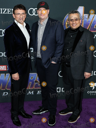 Anthony Russo Photo - LOS ANGELES CALIFORNIA USA - APRIL 22 Anthony Russo Kevin Feige and Joe Russo arrive at the World Premiere Of Walt Disney Studios Motion Pictures and Marvel Studios Avengers Endgame held at the Los Angeles Convention Center on April 22 2019 in Los Angeles California United States (Photo by Xavier CollinImage Press Agency)