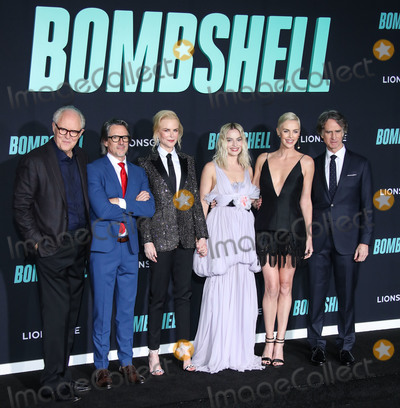 Margot Robbie Photo - WESTWOOD LOS ANGELES CALIFORNIA USA - DECEMBER 10 Charles Randolph Nicole Kidman Margot Robbie Charlize Theron and Jay Roach arrive at the Los Angeles Special Screening Of Liongates Bombshell held at the Regency Village Theatre on December 10 2019 in Westwood Los Angeles California United States (Photo by Xavier CollinImage Press Agency)