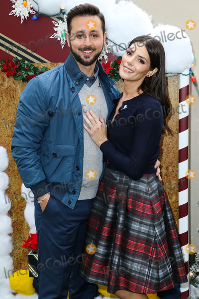 ASHLEY GREEN Photo - BEVERLY HILLS LOS ANGELES CA USA - DECEMBER 09 Australian TV personality Paul Khoury and wifeactress Ashley Greene arrive at the Brooks Brothers Annual Holiday Celebration In Los Angeles To Benefit St Jude 2018 held at the Beverly Wilshire Four Seasons Hotel on December 9 2018 in Beverly Hills Los Angeles California United States (Photo by Xavier CollinImage Press Agency)