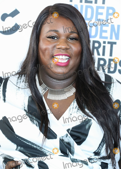 Alex Newell Photo - SANTA MONICA LOS ANGELES CALIFORNIA USA - FEBRUARY 08 Alex Newell arrives at the 2020 Film Independent Spirit Awards held at the Santa Monica Beach on February 8 2020 in Santa Monica Los Angeles California United States (Photo by Xavier CollinImage Press Agency)