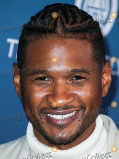 Usher Photo - LOS ANGELES CA USA - JANUARY 05 Singer Usher (Usher Raymond IV) arrives at The Art Of Elysiums 12th Annual Heaven Gala held at a Private Venue on January 5 2019 in Los Angeles California United States (Photo by Xavier CollinImage Press Agency)