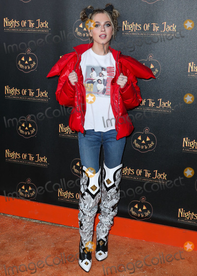 Ann Winters Photo - CALABASAS LOS ANGELES CALIFORNIA USA - OCTOBER 02 Anne Winters arrives at Nights of the Jack Friends and Family Night 2019 held at King Gillette Ranch on October 2 2019 in Calabasas Los Angeles California United States (Photo by Xavier CollinImage Press Agency)