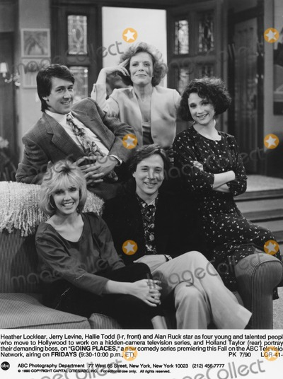 Alan Ruck Photo - Going Places Heather Locklear Jerry Levine Hallie Todd and Alan Ruck Supplied by SmpGlobe Photos Inc