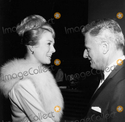 Inger Stevens Photo - Inger Stevens with Stanley Kramer Producer at writerssupplied by Globe Photos Inc