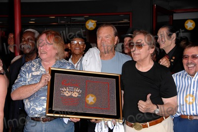 Hal Blaine Photo - Don Randi Glen Campbell and Hal Blaine During a Ceremony Inducting the Wrecking Crew Into Hollywoods Rockwalk on June 25 2008 in Los Angeles Photo Michael Germana  Superstar Images - Globe Photos