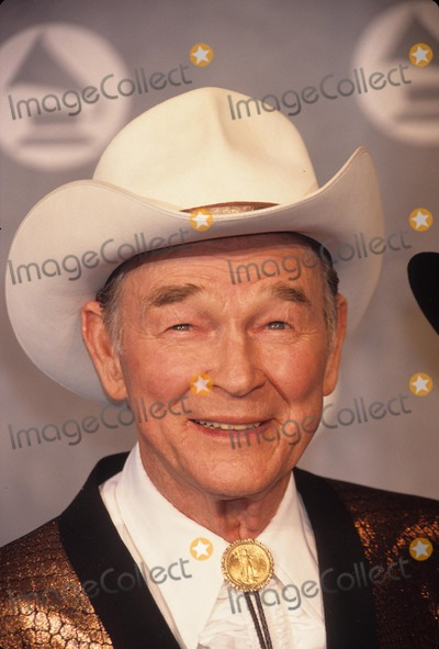 Roy Rogers Photo - Roy Rogers at the 34th Grammy Awards 1992 A8809 Photo by Adam Scull-Globe Photos Inc