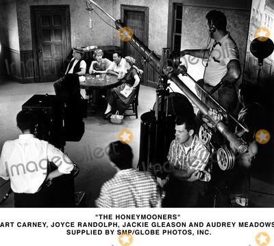 Audrey Meadows Photo - The Honeymooners Art Carney Joyce Randolph Jackie Gleason and Audrey Meadows Supplied by SmpGlobe Photosinc