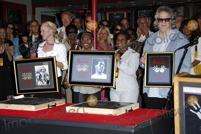 Al Kooper Photo - Michelle Phillips Zelma Atwood Carla Redding-andrews and Al Kooper During a Ceremony Inducting Otis Redding the Mamas  the Papas and Al Kooper Into Hollywoods Rockwalk on May 11 2007 in Los Angeles Photo by Michael Germana-Globe Photosinc