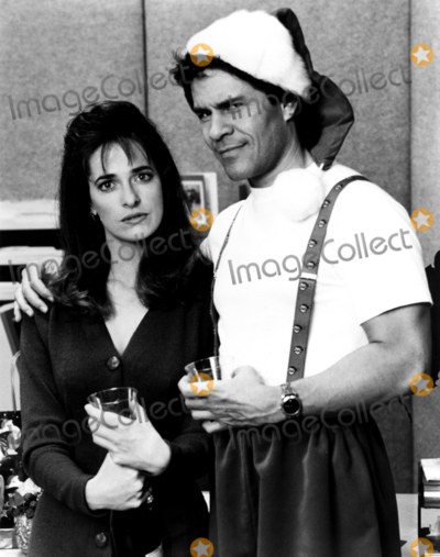 A Martinez Photo - A Martinez and Sheila Kelley in a Scene From LA Law NbcGlobe Photos Inc Tv Still