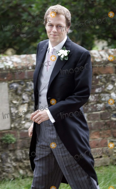 SARAH BUYS Photo - Tom Parker Bowles  Sarah Buys Wedding-stnicholas Church Rotherfield Greys Nrhenley-on-thames Oxfordshire England Uk Mark Chilton-globelinkukcom-Globe Photos Inc 001586 09-10-2005 Tom Parker Bowles