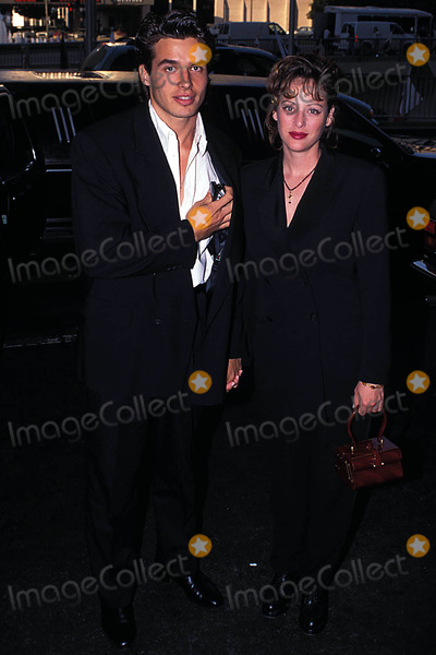 Antonio Sabato Jr Photo - Apla Fashion Awards LA CA Photo Milan Ryba-Globe Photos Inc 1995 Virginia Madsen Antonio Sabato Jr