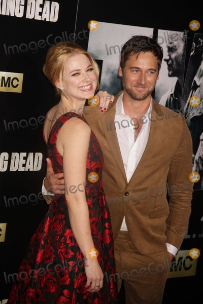 Alexandra Breckenridge Photo - Alexandra Breckenridgeryan Eggold at Amc Season Six Debut of the Walking Dead at Fan Premiere Event at Madison Square Garden 10-9-2015 John BarrettGlobe Photos