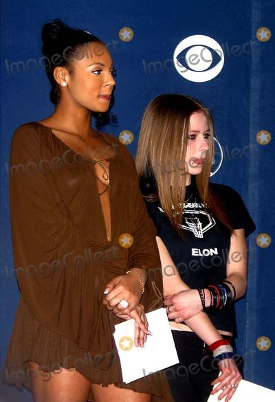 Avril Lavigne Photo - Sd010703 45th Annual Grammy Awards Nominations Announcements at Madison Square Garden NYC Photo by John BarrettGlobe Photosinc 2003 Ashanti and Avril Lavigne