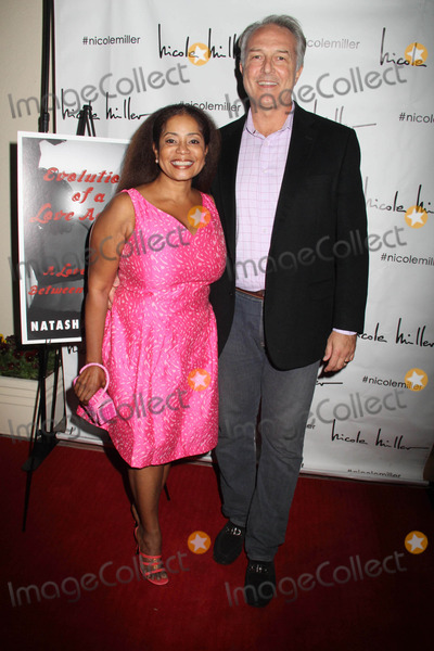 Nicole Miller Photo - Natasha Mccreas Evolution of a Love Addict Book Launch Cocktail Party Hosted by Chrystee Pharris Nicole Miller Store West Hollywood CA 10222014 Dar Dixon and Donzaleigh Abernathy Clinton H WallaceGlobe Photos Inc