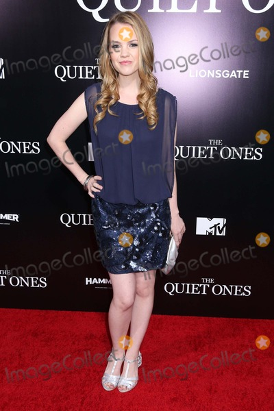 Abbie Cobb Photo - Abbie Cobb attends the Quiet Ones Premiere Held at Ace Hotel Theatre on April 22nd 2014 Los Angeles Californiausa Phototleopold Globephotos