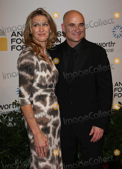 Andre Agassi Photo - Steffi Graff Andre Agassi Tennis Players Andre Agassi Foundation For Educations 15th Grand Slam For Children Benefit Concert - Red Carpet the Wynn Las Vegas 10-09-2010 Photo by Graham Whitby Boot-alstar-Globe Phtos Inc 2010