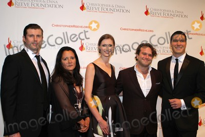 DANA REEVES Photo - The Christopher  Dana Reeve Foundation Hosts  a Magical Evening at Cipriani Wall Street in New York City Reeve Children and Marsha Garces Williams  Zak Williams