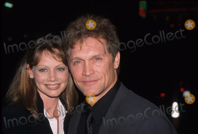 Andrew Stevens Photo - Andrew Stevens with Wife Robyn Get Carter Premiere at Manns Theatre in Westwood  Ca 2000 K19977np Photo by Nina Prommer-Globe Photos Inc