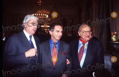 Henri Verneuil Photo - Imapressjean Fititjian- 14-02-96- Henri Verneuil Daniel Toscan Du Plantier Et Laurent Terzian (the French Director Henri Verneuil Passed Away Today 1112002 at the Age of 81) Credit ImapressGlobe Photos Inc