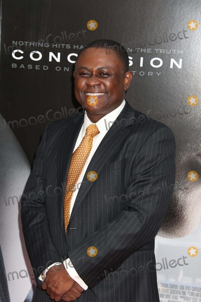 Bennet Omalu Photo - Bennet Omalu (Will Smith Plays Him in the Movie) at Screening Ofconcussion at Amc Loews Lincoln Square 12-16-2015 John BarrettGlobe Photos
