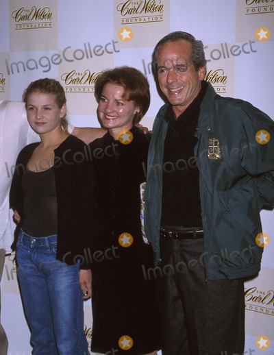Desi Arnaz Photo -  Carl Wilson Fuondation Benefit Concert El Ray Theatre LA CA 10142001 Desi Arnaz Jr with Wife Amy and Daughter Haley Photo by Ed GellerGlobe Photosinc