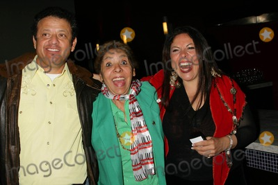 Sophia Santi Photo - im Not Like That No More Los Angeles Premiere at Arclight Hollywood Hollywood California 11-18-2009 Paul Rodriguez with Sophia Santi and Her Mom Photo Clinton H Wallace-ipol-Globe Photos Inc